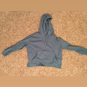 H&M Divided Cropped Hoodie